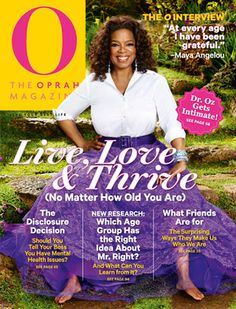 O, The Oprah Magazine Cover, May 2013