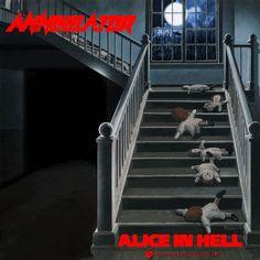 Annihilator - Alice In Hell (animated cover artwork) #annihilator #jeffwaters #thrashmetal #heavymetal #powermetal #speedmetal #metal #metalheads #metalhead #aliceinhell