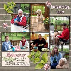 Mother's Day, digital layout by Art_Teacher