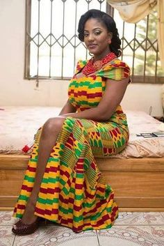 Dearest Beauty, We hope this writing meets you well? Today, we want to bring some of the finest Kente styles you may want to rock this weekend. African Dresses For Women, African Wear, African Fashion Dresses, African Women, African Clothes, African Style, African Beauty, Ghana Fashion, African Print Fashion