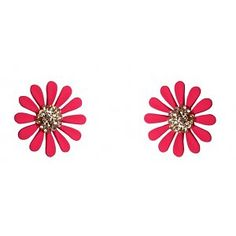 Collectif; Dazzling Daisy Stud Earrings Jewelery, Daisy, Stud Earrings, Retro, Pink, Outfit, Products, Jewlery, Outfits