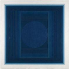 ADUTON XXVII . Oil on canvas laid on board. 40 x 40in . 1978 . Paul Feiler