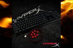 HyperX presenta Alloy su primer teclado shooter FPS