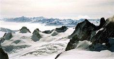 Aiguille du Midi Mountain Peak, Chamonix Mont-Blanc, France