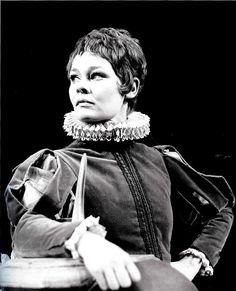 Dame Judi Dench as Viola in Twelfth Night (RSC 1969).