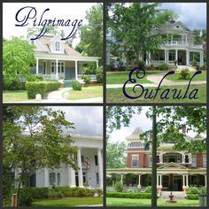 Beautiful town of Eulaula, Alabama Eufaula Alabama, Sweet Home Alabama, My Town, Pilgrimage, Victorian Homes, Abandoned, Mansions, Tiny Houses, House Styles