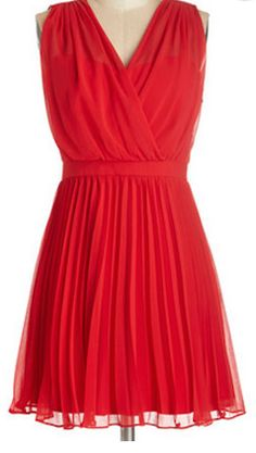 Elegant chiffon dress for the holidays - on sale for $28.99! http://rstyle.me/n/qcx45nyg6
