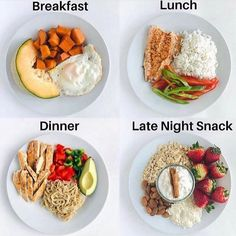 In order to lose weight you should be consuming healthy meals at least 5 times a day. # Food and Drink menu weight loss Healthy ways of eating 5 meals Healthy Meal Prep, Healthy Breakfast Recipes, Easy Healthy Recipes, Easy Meals, Healthy Eating, Lunch Recipes, Healthy Workout Meals, Summer Recipes, Fall Recipes