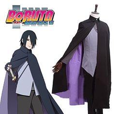 FOCUS-COSTUME BORUTO NARUTO THE MOVIE Uchiha Sasuke Full Set Cosplay Costume