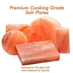 Himalayan Salt Tile or Slab - 12 x 8 x 2 - http://spicegrinder.biz/himalayan-salt-tile-or-slab-12-x-8-x-2/