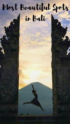 """10 Beautiful Spots in #Bali that are Instagram Worthy! #WonderfulIndonesia  """"Doors of Heaven"""" at Pura Lempuyang by @orti_bali via Instagram"""