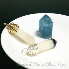 Rainbow Fluorite tipped keepsake crystal - With your choice of personal inclusions