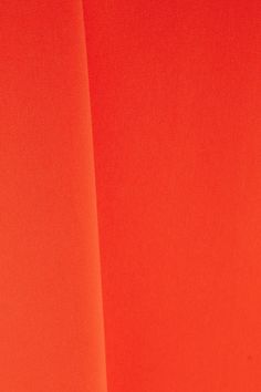 Marchesa Notte - Tulle-paneled Embellished Stretch-crepe Gown - Orange - US12