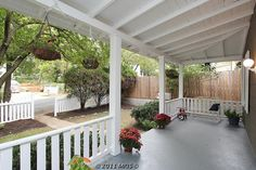 Love big porches.