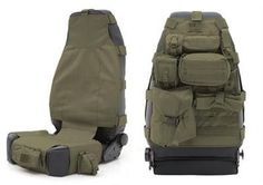 Front Gear Hydration Pack Black/Tan/Olive Smittybilt