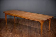 Reedition of Antique French Three Plank Top Dining Table Aged and Antiqued Patina Made from Antique Cherry Planks Based upon Original French Antique Custom Options Available