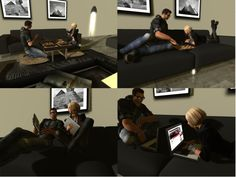 NEW!!! U.S.Designs Giza modular livingroom set - 373 HQ animations - Xpose powered and Xcite! compatible
