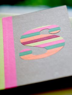 Save yourself a trip to the art supply store, learn how to make monogrammed stickers using only colorful tape and parchment paper! This DIY is…