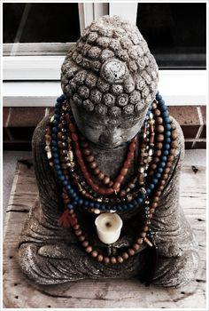 buddha with malas