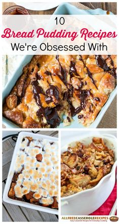 SO #obsessed with these bread pudding recipes right now. They make for the best desserts.
