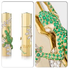 House of Sillage limited-edition piece. House of Sillage limited-edition travel spray crafted in finely jeweled solid gold case was also showcased at the World Luxury Expo in Abu Dhabi - 2013 Perfume, Abu Dhabi, Palm Beach, Solid Gold, Jewels, Luxury, House, Travel, Viajes