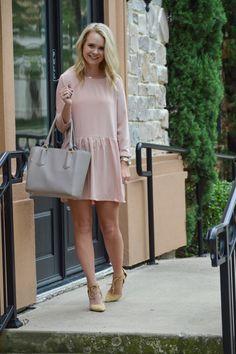 Dagne Dover plus pink dress
