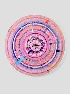 Queue the Damien Hirst posts… I want to share my favourite pieces.Beautilful Vibrations and Soundwaves Painting, 2008.