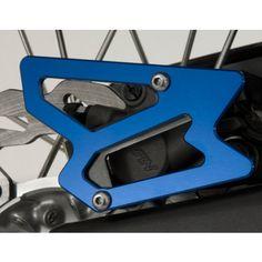 GYTR Billet Rear Brake Caliper Guard - Blue | MotoSport