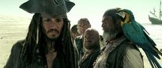 CAPTAIN JACK SPARROW (Johnny Depp) ~ PIRATES of the CARIBBEAN: The Curse of the Blk. Pearl, 2003