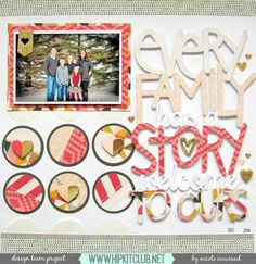 Designer @nicolenowosad is sharing in the blog this stunning LO created with the #january2016 kits full of gorgeous products like @mymindseyeinc My Story @americancrafts @heidiswapp @cratepaper #papercrafting #hipkits #hipkitclub #scrapbooklayout