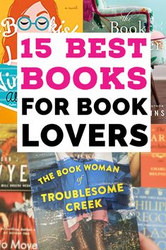 What's better than books about books? We gathered 15 excellent books for book lovers, from librarians in rom coms to book shop employes with family secrets, there's something for every fan of books on this list! Books To Read In Your 20s, Books To Read For Women, Best Books To Read, Great Books, Book Club Books, Book Lists, Best Fiction Books, The Guernsey Literary, The Book Thief