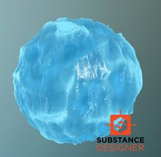 ArtStation - Ice material, Sergey Sobin