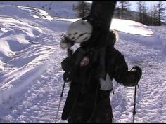 Sestriere Via Lattea 11 11 2009 First Powder swallowtail snowboard freeriding Peace Love & Powder