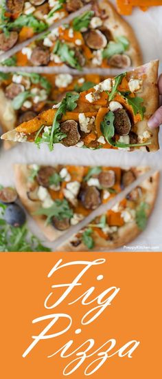 Check out the link for the best pizza recipes by top chefs. Healthy Pizza Recipes, Fig Recipes, Brunch Recipes, Appetizer Recipes, Vegetarian Recipes, Dinner Recipes, Delicious Recipes, Amazing Recipes, Easy Recipes