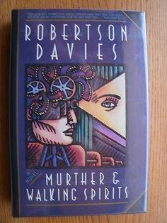 awesome Robertson Davies Murther & Walking Spirits 1st ed First edition HC SIGNED - For Sale View more at http://shipperscentral.com/wp/product/robertson-davies-murther-walking-spirits-1st-ed-first-edition-hc-signed-for-sale/