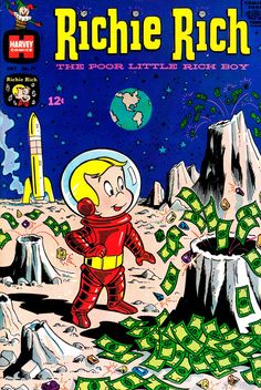 Richie Rich comic book (1968)