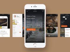 Ознакомьтесь с этим проектом @Behance: «EDDA UI Kit» https://www.behance.net/gallery/29450885/EDDA-UI-Kit