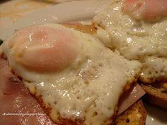 Obľúbené recepty: Rýchla večera ... alebo hrianky s volským okom