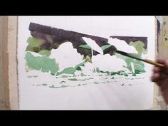 17 연잎 표현하기 - YouTube