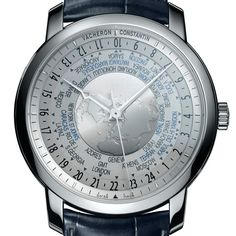 Vacheron Constantin Traditionnelle World Time Collection Excellence Platine PLATINUM KEEPS TIME TO THE TUNE OF USEFUL COMPLICATIONS (See more at En/Fr: http://watchmobile7.com/articles/vacheron-constantin-traditionnelle-collection-excellence-platine) #watches #montres #vacheronconstantin