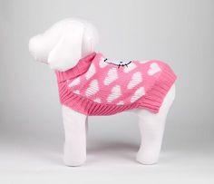 Hello Kitty Pet Sweater: Heart
