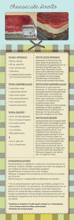 από την Xara Kapsali Ducan Diet Recipes, Sweet Recipes, Healthy Recipes, Healthy Food, Greek Desserts, Dukan Diet, Cheesecake, Sweets, Cookies