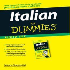 Italian for Dummies (Unabridged) [Unabridged Nonfiction] -...: Italian for Dummies (Unabridged) [Unabridged Nonfiction] -… #Languages