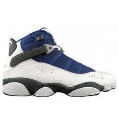 64186cc5bc4 322992-141 Air Jordan 6 Rings white french blue flint grey university blue  A6R003 Price