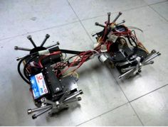 Magnetic crawling robot could be used to help engineers inspect aging bridges | via CNET