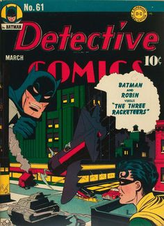 DETECTIVE COMICS #61. DC, 1937 Series. Source: http://www.comics.org/issue/2073/