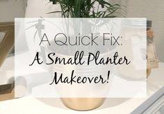 A Quick Fix: A Small