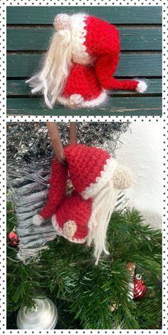 SANTA CLAUS AMIGURUMI - free crochet pattern