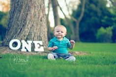 ONE year old photo-shoot. First Birthday Photo Ideas. One year photos. Baby's first birthday pictures. Little boy photos. - #KBrownPhotography