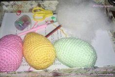 Earter egss  #ganchillo #crochet #manualidades #hazlotumismo #hechoamano #handmade #doityoursel #diy